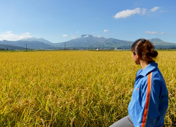 今年は九州北部豪雨の影響を受けた昨年度よりも、ずいぶん収穫量も多いそうだ。
